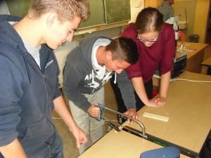 Die Schüler durften Mathematik ganz praktisch und spielerisch lernen und selbst mitgestalten.