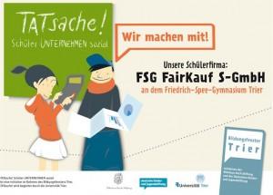 """Die Schülerfirma """"Fairkauf"""" wurde im Jahr 2009 gegründet."""