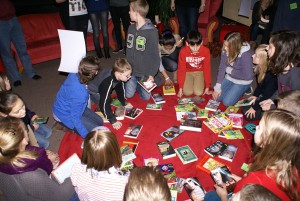 Das Ziel der Veranstaltung: die Lesemotivation bei Kindern erhöhen.