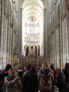 Der Besuch von Kirchen und Kathedralen zählte ebenso zum Programm...