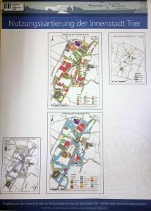 Das Ergebnis: thematische Karten zur Nutzung der Trierer Innenstadt