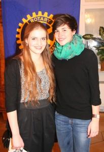 Barbara Bohnen (links) und Charlotte Martin-Yuste.