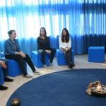 """Der """"Raum der Stille"""" - ein Rückzugsraum aus der Hektik des Schulalltags."""