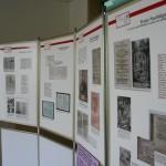 Die Ausstellung zu Friedrich Spee im Mensa-Gebäude.