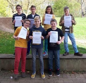 Beim Schulwettbewerb wurden die Vertreter für den Regionalentscheid ermittelt.