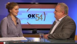 Barbara Bohnen im Gespräch mit Kajo Hammann.