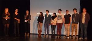Die FSG-Schüler bei der Preisverleihung.