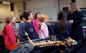 Schüler, die am FSG ein Instrument lernen möchten, können dies dank einer Partnerschaft mit der Musikschule.