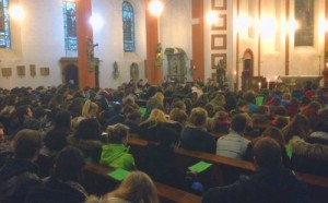 Die FSG-Gemeinschaft traf sich zum Jahresabschluss in der Pfarrkirche St. Jakobus in Biewer.
