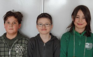 Enrico Heise, Enrico Becker und Luca Kleinschmitt haben den 1. Preis im Fach Physik gemacht.