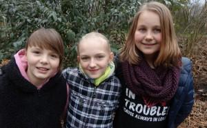 Hannah Schmitt, Ekaterina Kondratenko und Ina Hostert.