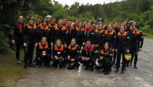 Die Sport-Gruppe des FSG im Ötztal.
