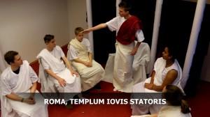 Erzählt wurden die antiken Kriminalfälle natürlich in lateinischer Sprache.