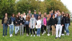 Die FSG-Schüler und ihre italienischen Austausch-Partner.