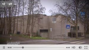 Die Schließung der Halle am Mäusheckerweg war Thema in der SWR Landesschau RLP.