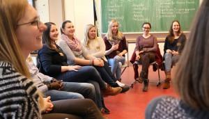 Bei dem ganztägigen Workshop reflektierten die Schülerinnen und Schüler eigene Sichtweisen.