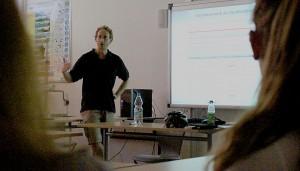 Geoinformatik war eines der Berufsfelder, über das sich die Schüler informieren konnten.