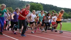 Mit einem Sportfest im Moselstadion starteten die Schüler in die letzte Woche des Schuljahres.