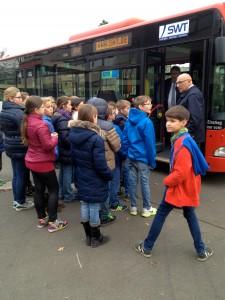 Busschule für die Klasse 5.
