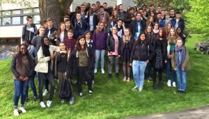 Schüler aus Moissy auf Kurzbesuch am FSG.