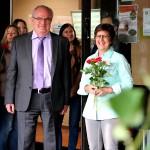 Schulleiter Kajo Hammann bedankte sich für die Zusammenarbeit.