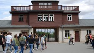Die Schüler besuchten das KZ Buchenwald.