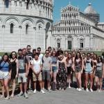 Die Stufe 11 erkundete unter anderem Pisa.