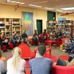 Schulleiter Kajo Hammann begrüßte die Lehrer der umliegenden Grundschulen.
