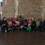 Gruppenfoto vor dem Trierer Dom.