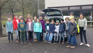 Die Schüler des Friedrich-Spee-Gymnasiums beteiligten sich an der Aktion der Johanniter.