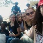Über die Karnevalstage ist eine 11-köpfige Schülergruppe des FSG in Afrika.