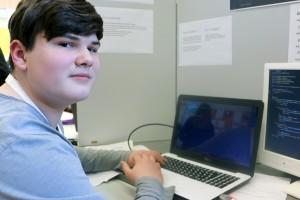 Felix Heckmann programmiert in Java.