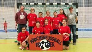 Das Team des FSG bei der Finalrunde des Fritz-Walter-Cups in Kaiserslautern.