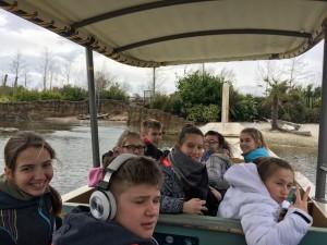 Bootfahrt im Zoo.