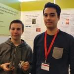 """Beim Landeswettbewerb """"Jugend forscht erreichten die beiden FSGler einen tollen 2. Platz."""