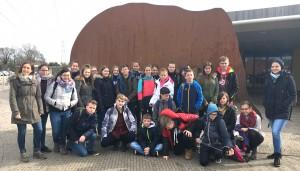 Die Trierer Gruppe in England.