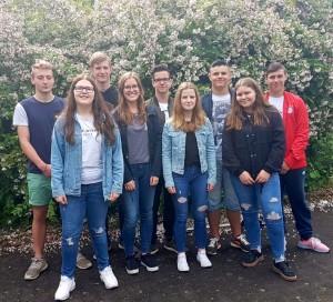 Das aktuelle SV-Team im Sommer 2018.