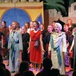 Die Aladdin-Aufführung der Musical-AG.