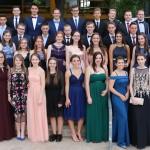 Der Abitur-Jahrgang 2018 des Friedrich-Spee-Gymnasiums Trier.