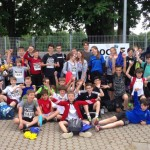 Die Läufer des FSG zeigten eine starke Mannschaftsleistung.