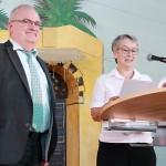 Nach sechs Jahren am FSG wurde Schulleiter Kajo Hammann in den Ruhestand verabschiedet.