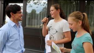 Im Interview verrät der neue Schulleiter Andreas Gehendges unter anderem, welche Eindrücke er bisher vom FSG gewonnen hat.