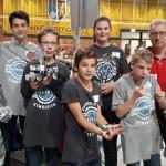 Das FSG-Team beim Wettkampf in Rockenhausen.
