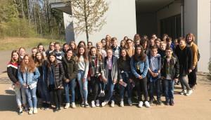 Deutsche und Franzosen verbringen diese Woche gemeinsam am FSG.