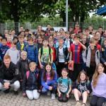 Die Schüler des Friedrich-Spee-Gymnasiums nach dem Wettkampf.