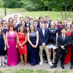 Der Abiturjahrgang 2019 am Friedrich-Spee-Gymnasium Trier.