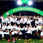 Die Innenraum-Crew beim DFB-Pokalfinale 2019 in Berlin. Mittendrin: drei FSGler.