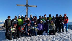 Die Skigruppe 2020.